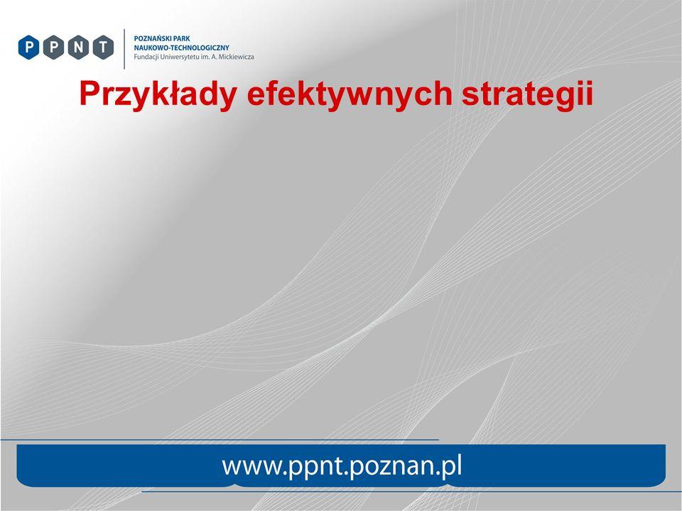 Przykłady efektywnych strategii