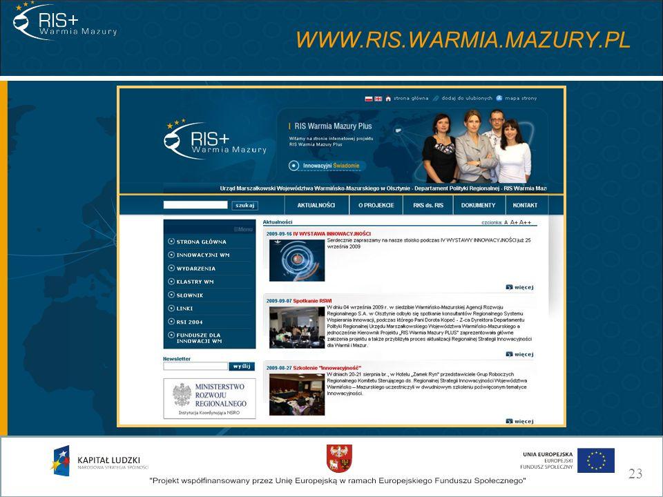 WWW.RIS.WARMIA.MAZURY.PL 23