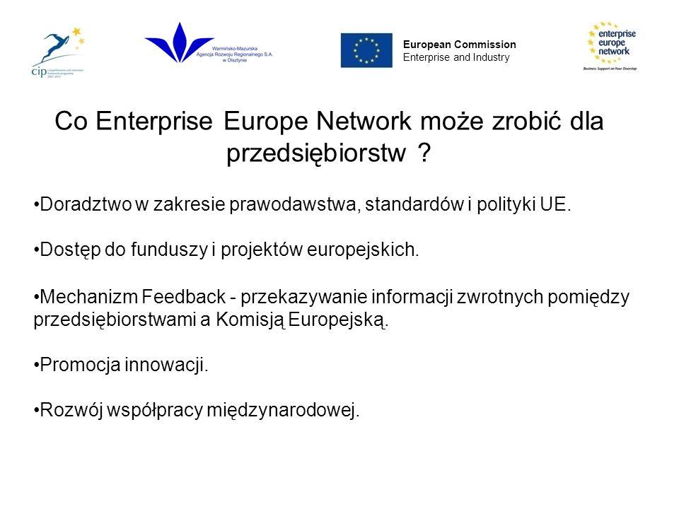 Co Enterprise Europe Network może zrobić dla przedsiębiorstw .