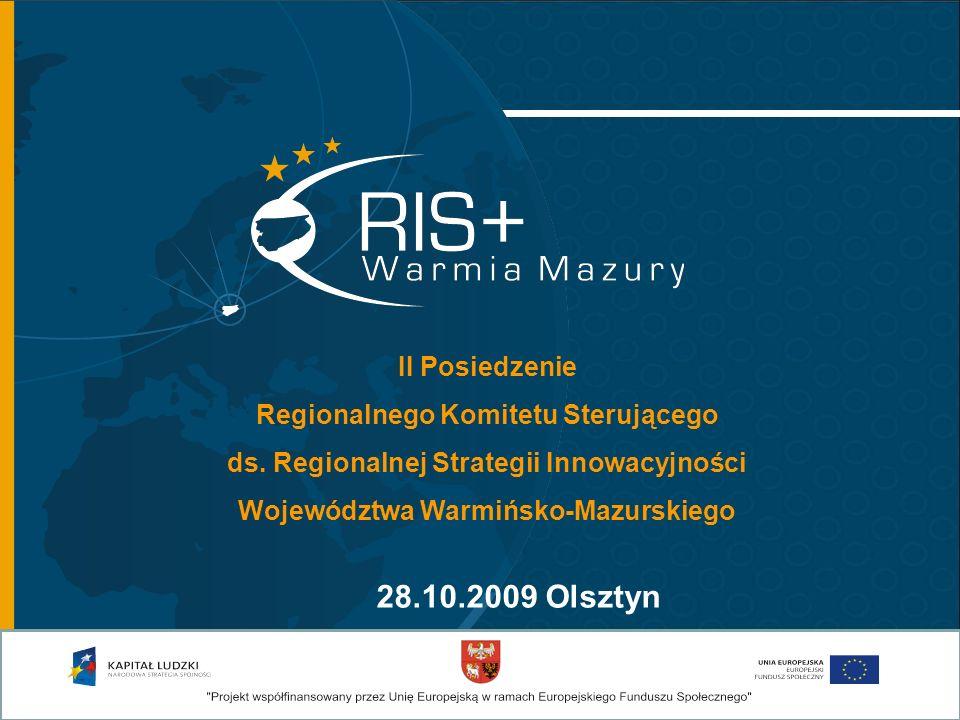 22 czerwca 2009 odbyła się konferencja inaugurująca realizację projektu RIS WARMIA MAZURY PLUS Konferencja odbyła się w Centrum Konferencyjno- Szkoleniowym Uniwersytetu Warmińsko- Mazurskiego w Olsztynie.