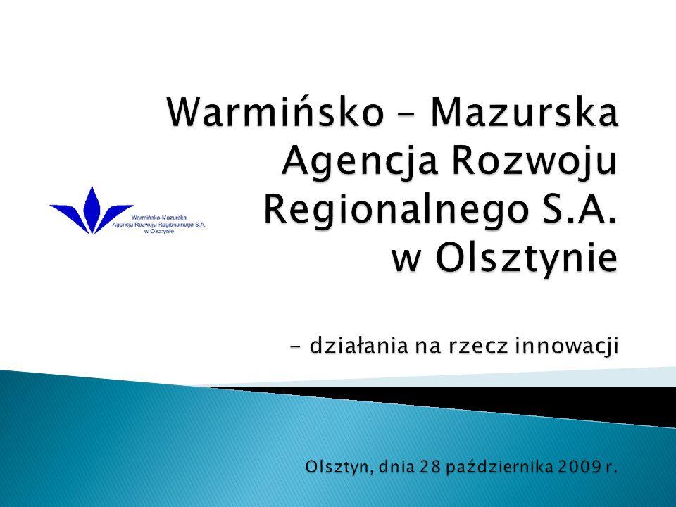 Rola kobiet w innowacyjnych przedsiębiorstwach w województwie warmińsko- mazurskim 1.
