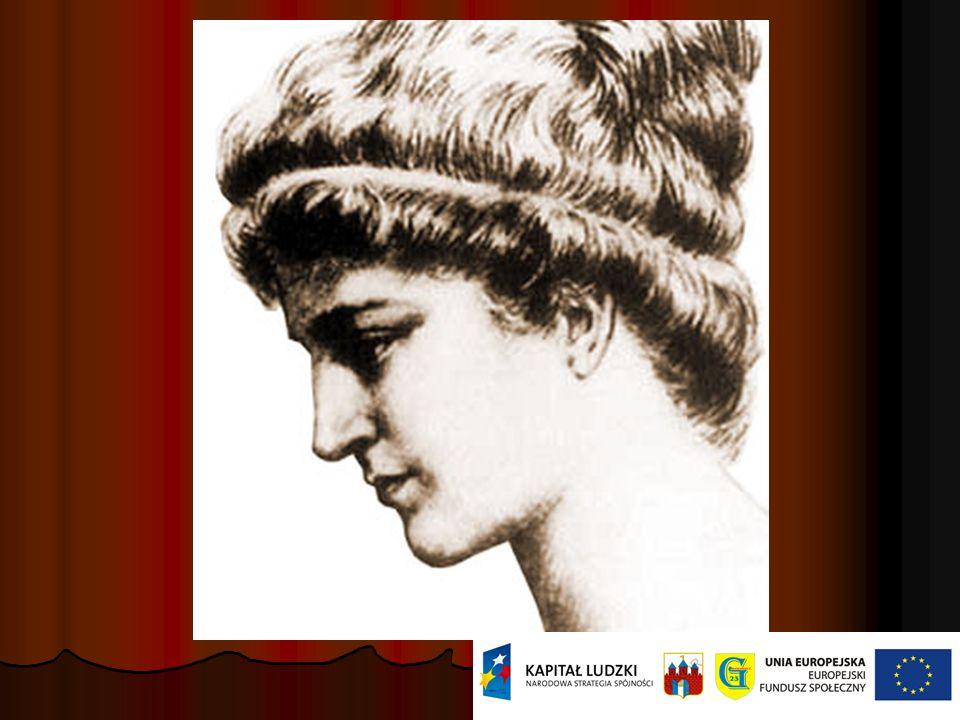 Hypatia z Aleksandrii Hypatia z Aleksandrii urodz. ok. 355 lub 370, zm. zamordowana przez rozpasany motłoch w marcu 415 r.w Aleksandrii. Filozof, mate