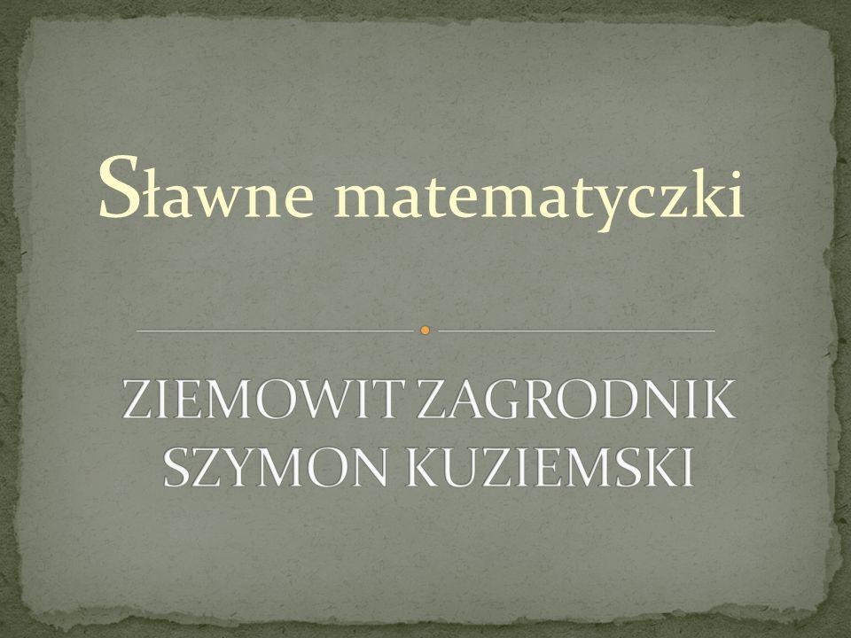 S ławne matematyczki