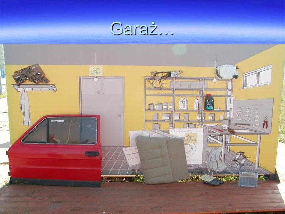Garaż…