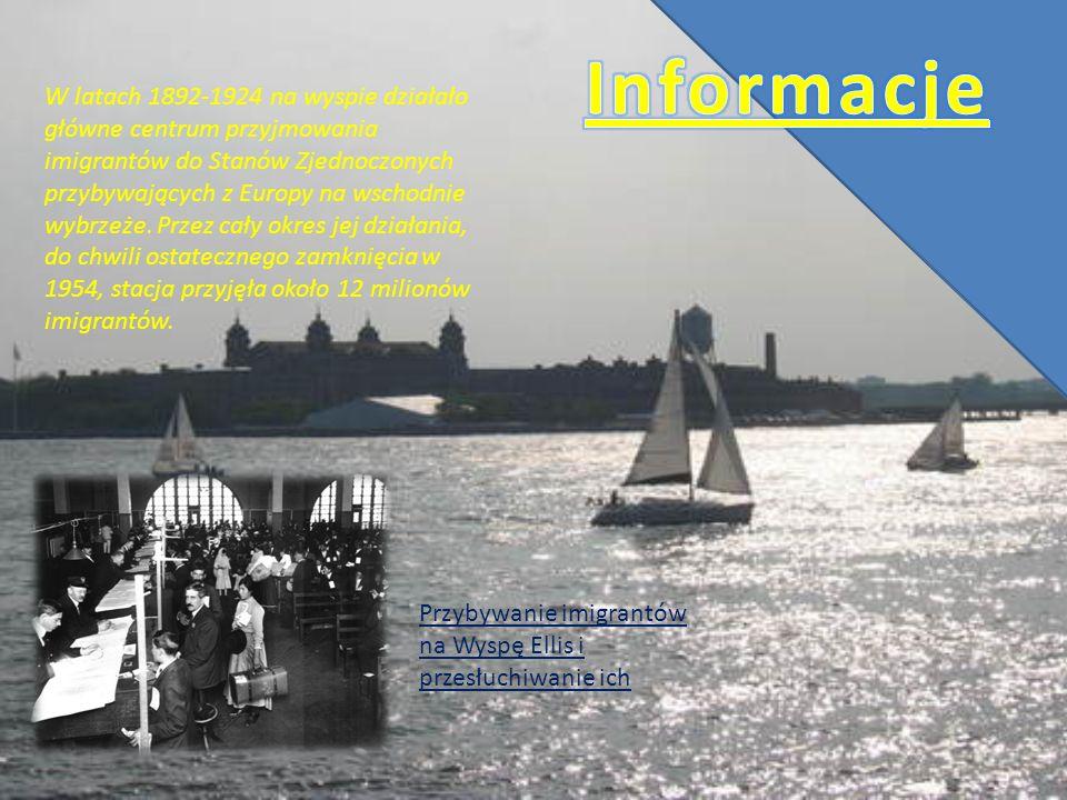 W latach 1892-1924 na wyspie działało główne centrum przyjmowania imigrantów do Stanów Zjednoczonych przybywających z Europy na wschodnie wybrzeże. Pr