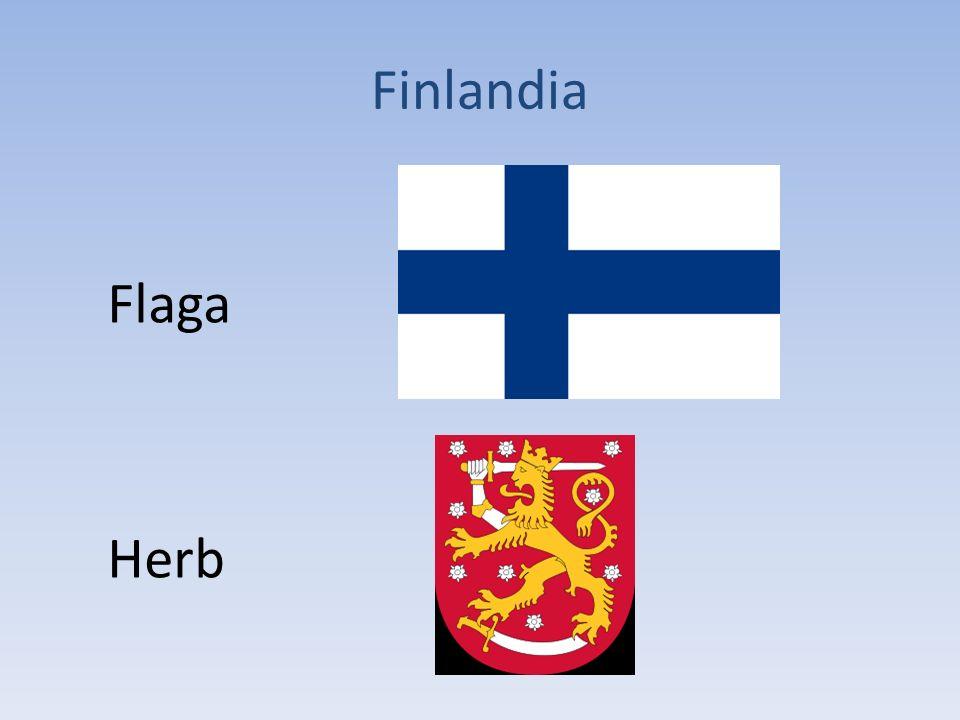 Finlandia Flaga Herb
