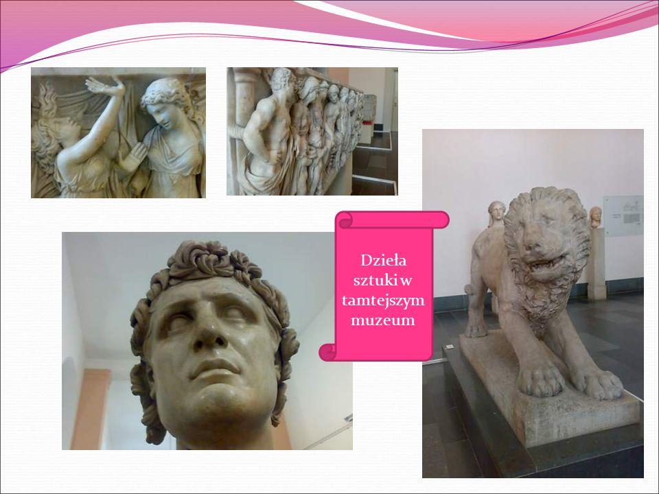 Następnie pojechaliśmy metrem do Muzeum Pergamońskiego.