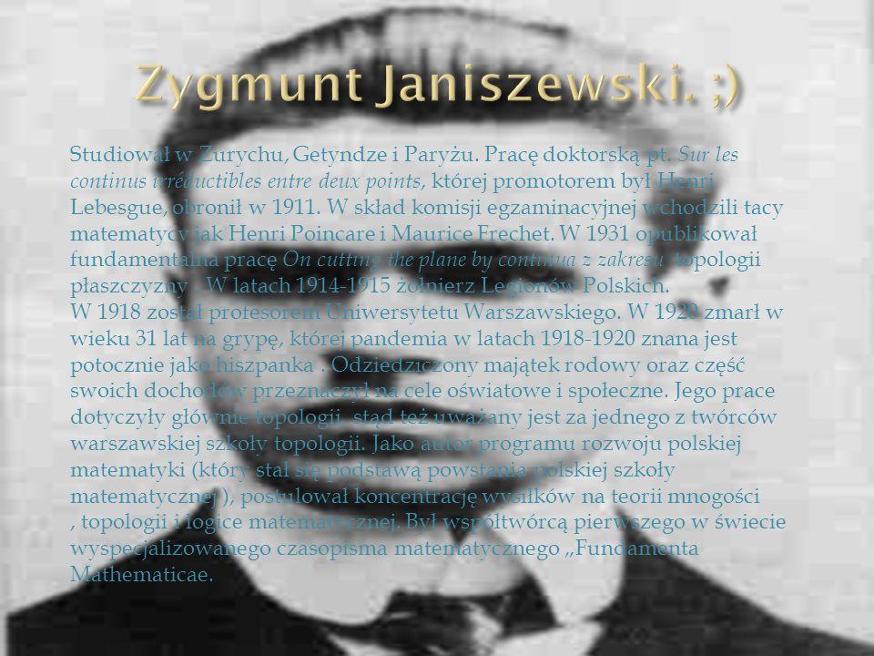 Studiował w Zurychu, Getyndze i Paryżu. Pracę doktorską pt. Sur les continus irréductibles entre deux points, której promotorem był Henri Lebesgue, ob
