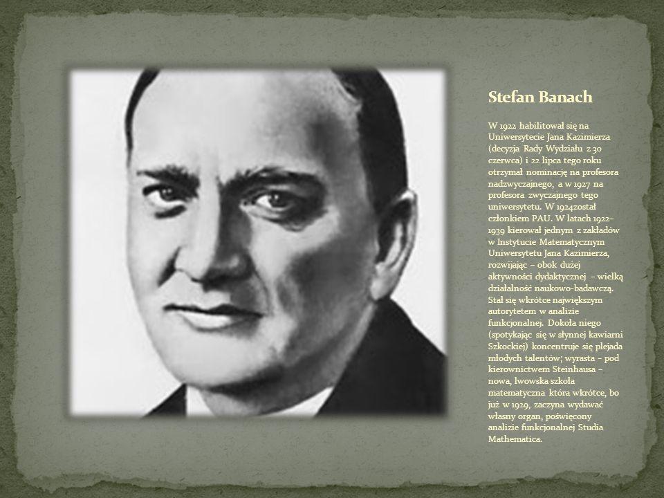 Stanisław Marcin Ulam (ur.13 kwietnia 1909 we Lwowie, zm.