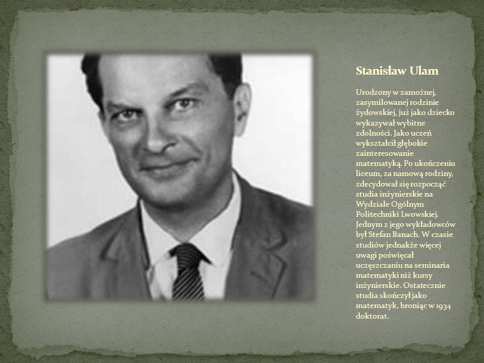 Mark Kac (ur.3 sierpnia 1914 w Krzemieńcu, zm.