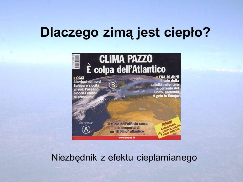 Są rejony świata dotknięte coraz częściej suszą, albo powodziami Nature, 28.03.2002, s. 390.