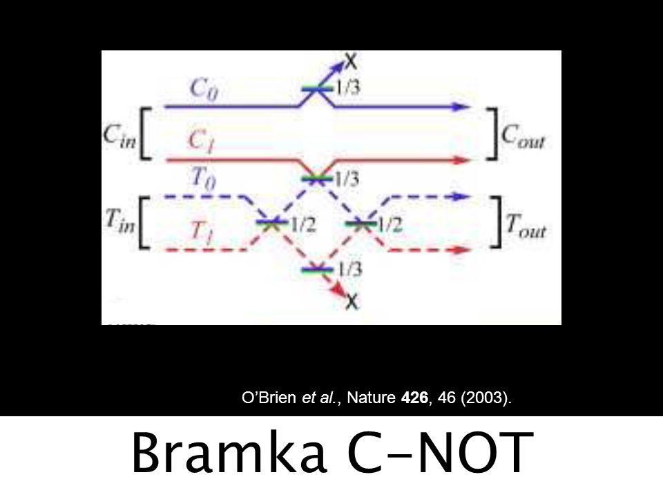 Jeden foton nieczysty = Σp a  1 a 1 a   E(t)E*(t)  1 = Σ c k  1 k E(x) = Σ (k) exp(ik.