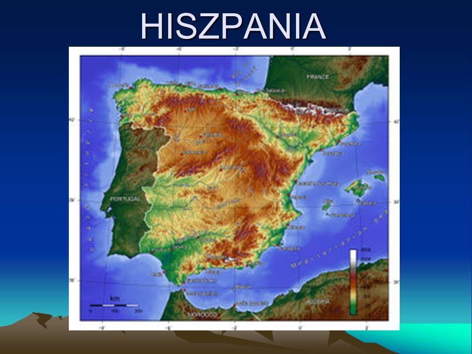 Hiszpania, Królestwo Hiszpanii to największe z trzech państw położonych na Półwyspie Iberyjskim.