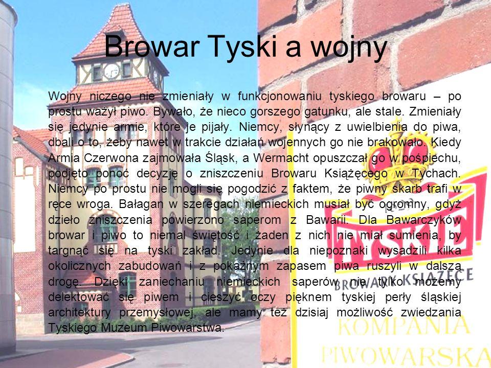 Działalność społeczna oraz charytatywna Jako lider branży piwowarskiej w Polsce Kompania Piwowarska znacznie szerzej rozumie swoją role w społeczeństwie, niż tylko warzenie doskonałej jakości piwa, płacenie podatków i wypracowywanie zysku dla swoich akcjonariuszy.