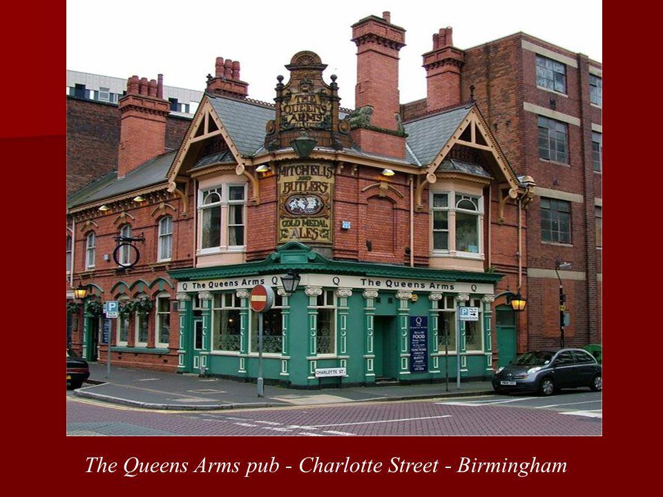 The Queens Arms pub - Charlotte Street - Birmingham
