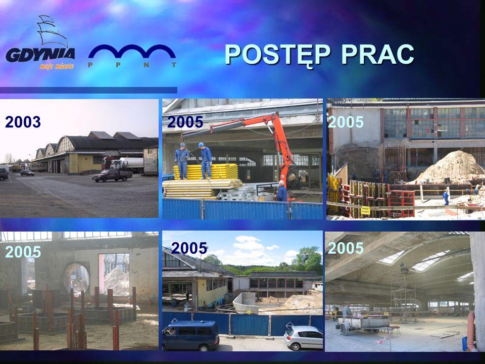 POSTĘP PRAC 200520032005