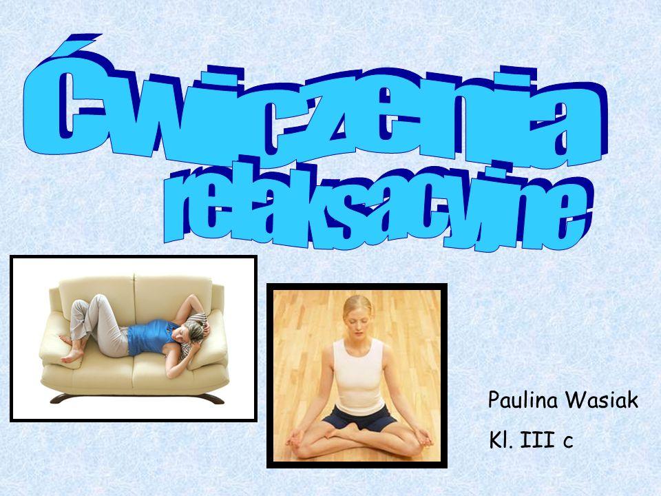 Paulina Wasiak Kl. III c