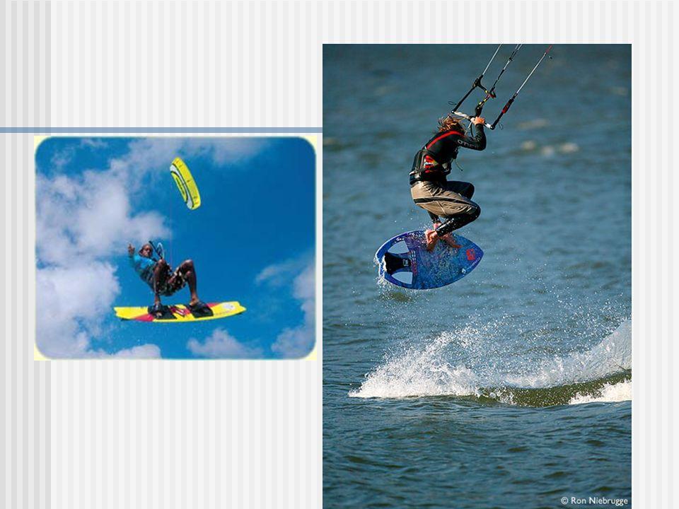 Kitesurfing Kitesurfing (także kiteboarding) sport wodny, odmiana Bałtyku, technicznie podobny do Bałtyku, jednak różni się znacząco w sposobie prowadzeniu deski – prowadzi się ją tak jak podczas jazdy na fali, na krawędzi (podobnie do snowboardu), w windsurfingu natomiast deska prowadzona jest płasko.