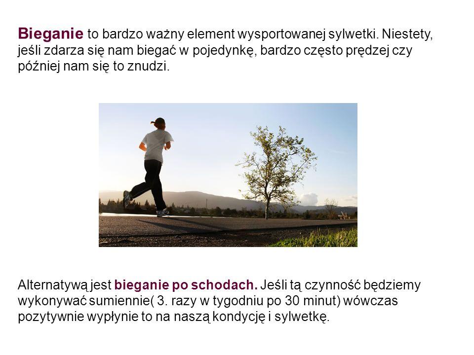 Bieganie to bardzo ważny element wysportowanej sylwetki. Niestety, jeśli zdarza się nam biegać w pojedynkę, bardzo często prędzej czy później nam się