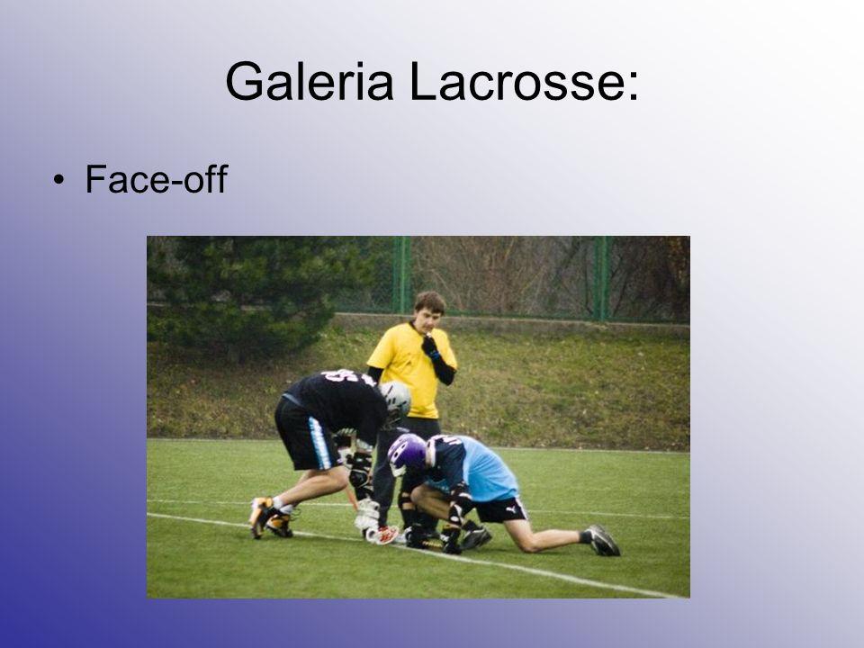 Galeria Lacrosse: Face-off