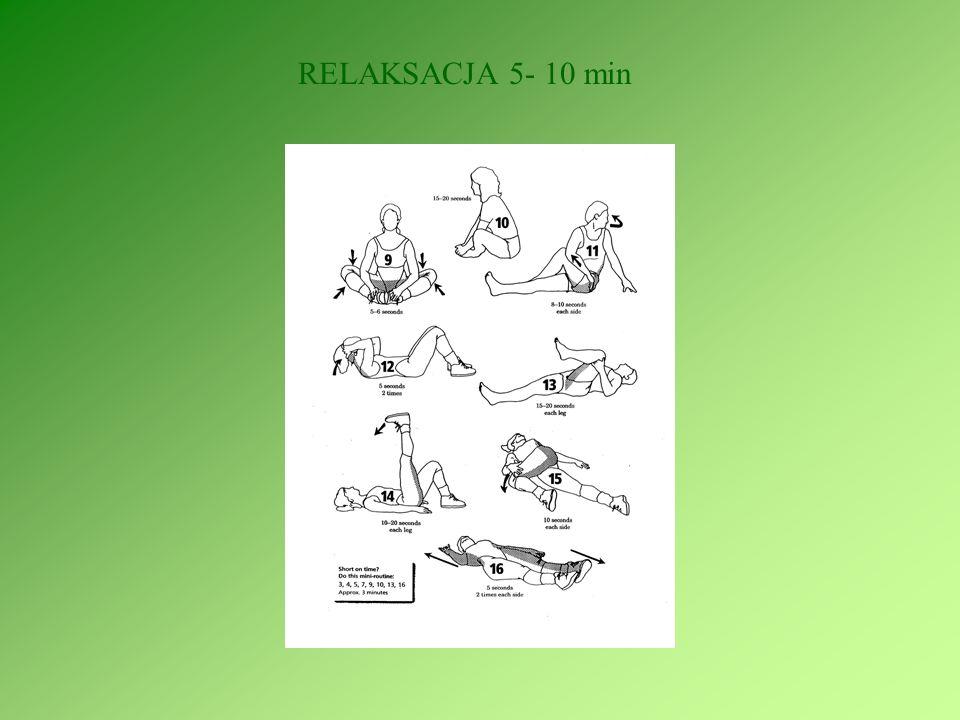 RELAKSACJA 5- 10 min