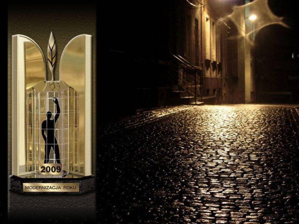 Tytuł MODERNIZACJA ROKU 2009 w kategorii: Obiekty Przemysłowo - Inżynieryjne OGÓLNOPOLSKI KONKURS MODERNIZACJA ROKU 2009