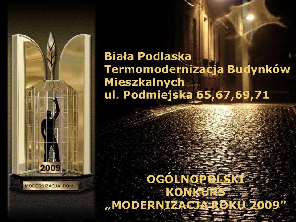 Biała Podlaska Termomodernizacja Budynków Mieszkalnych ul.