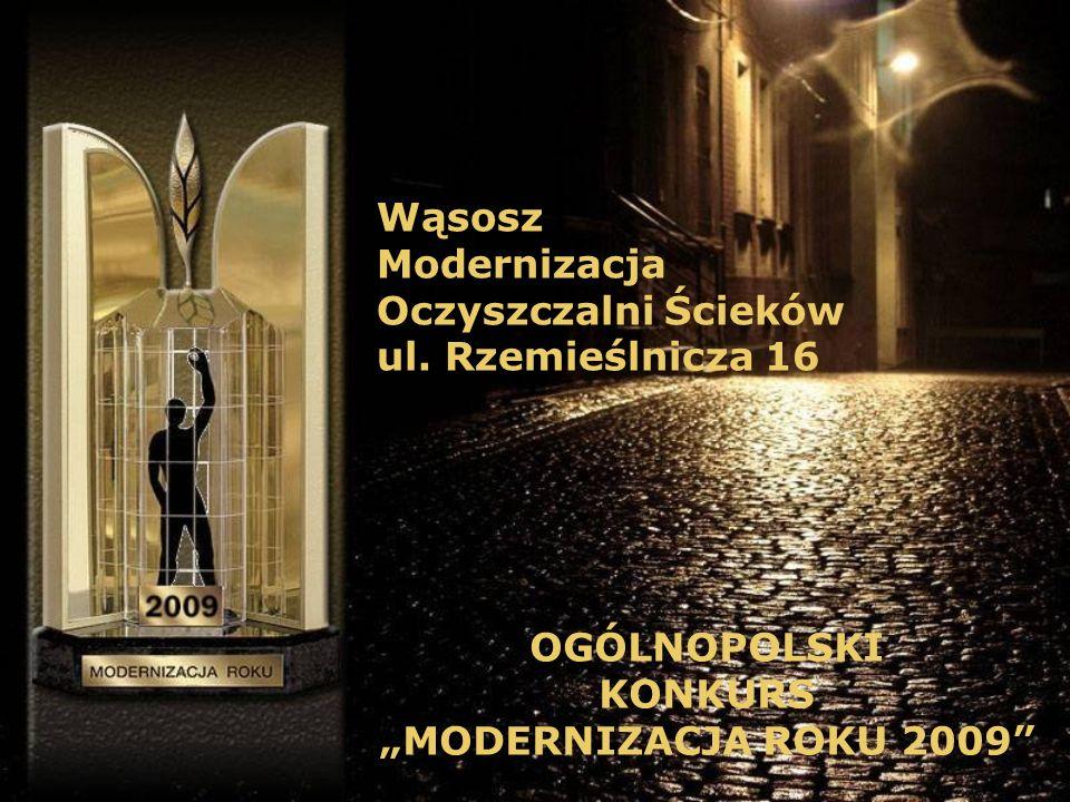 Wąsosz Modernizacja Oczyszczalni Ścieków ul.