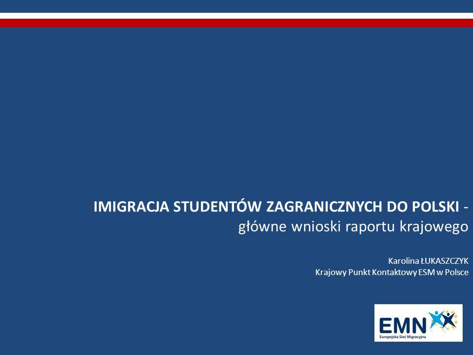 MOBILNOŚĆ W RAMACH UE (1) brak przeszkód formalno-prawnych dla kontynuowania lub podejmowania w Polsce przez obywateli państw pozaunijnych studiujących aktualnie w innym państwie UE (zgoda dziekana wydziału uczelni przyjmującej), brak rozróżnienia sytuacji prawnej studentów zagranicznych objętych unijnym programem promującym mobilność studencką, którzy chcą przyjechać do Polski w celu kontynuacji kształcenia, po tym jak przebywali oni w innym kraju członkowskim od sytuacji prawnej pozostałych studentów – obcokrajowców,