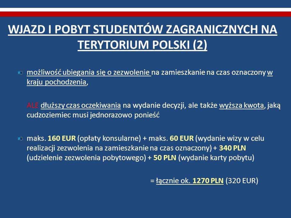 WJAZD I POBYT STUDENTÓW ZAGRANICZNYCH NA TERYTORIUM POLSKI (3) odsetek odmów wydania wizy studenckiej i wiz w celu kształcenia się w latach 2006-2011 – ok.