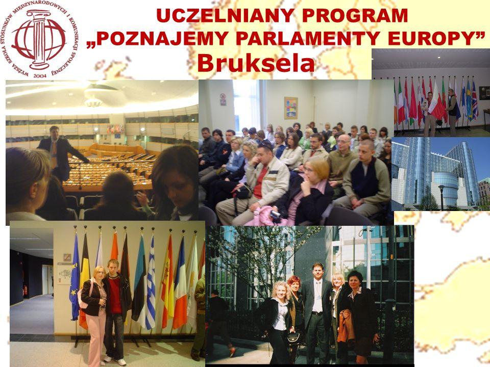 UCZELNIANY PROGRAM POZNAJEMY PARLAMENTY EUROPY Bruksela