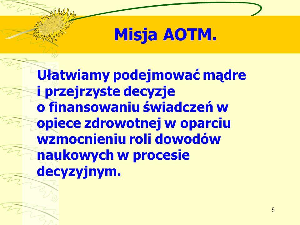 6 Metodologiczne podstawy pracy AOTM.