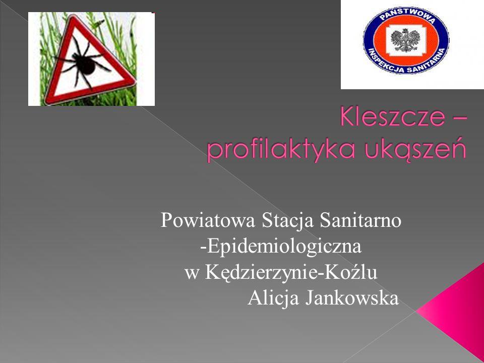 Powiatowa Stacja Sanitarno -Epidemiologiczna w Kędzierzynie-Koźlu Alicja Jankowska