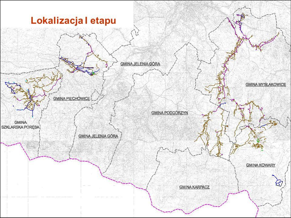 Lokalizacja I etapu