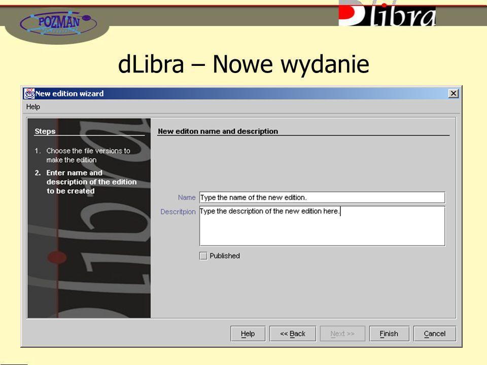 dLibra – Nowe wydanie