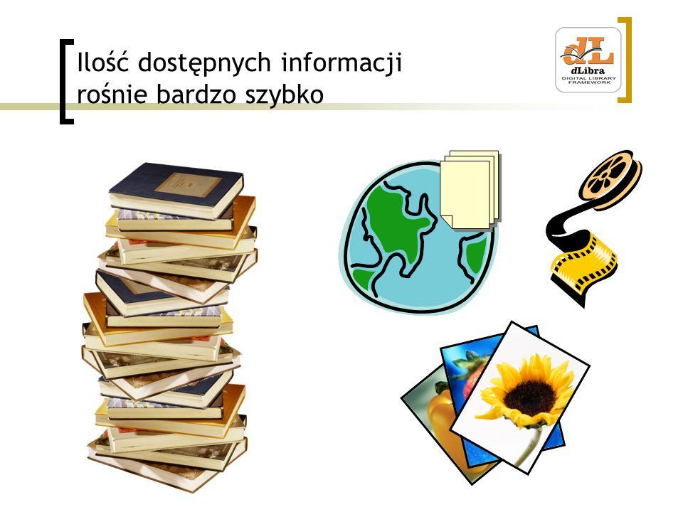 Ilość dostępnych informacji rośnie bardzo szybko