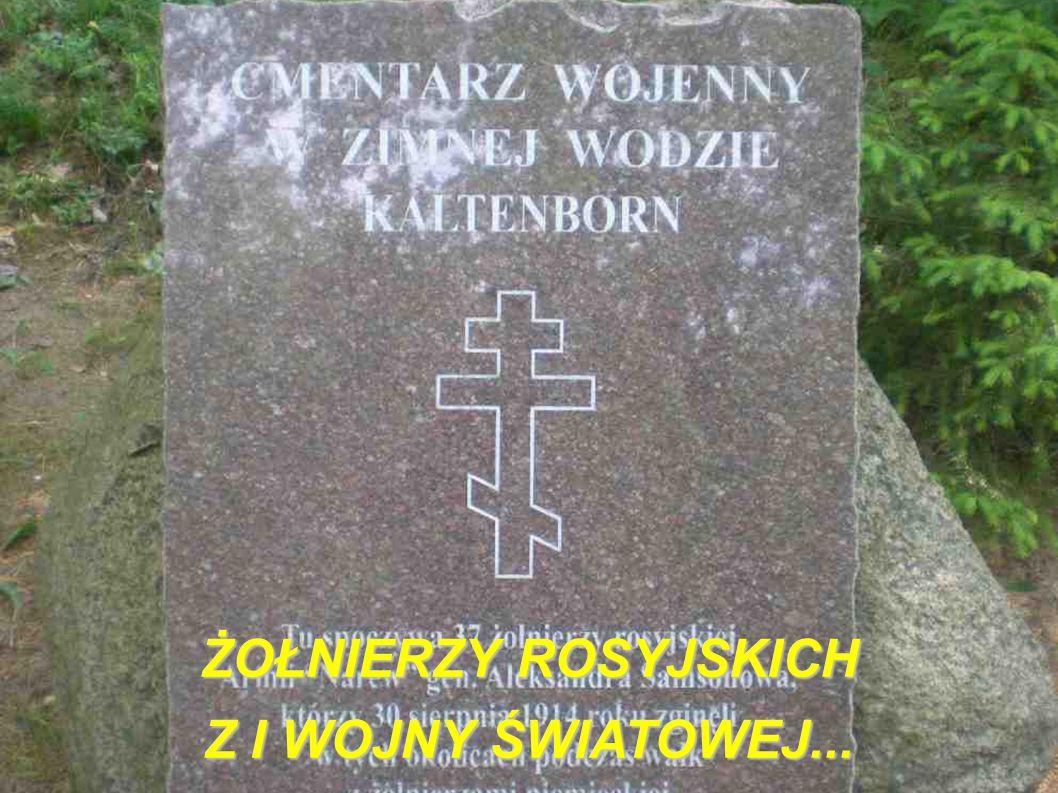 ŻOŁNIERZY ROSYJSKICH Z I WOJNY ŚWIATOWEJ...