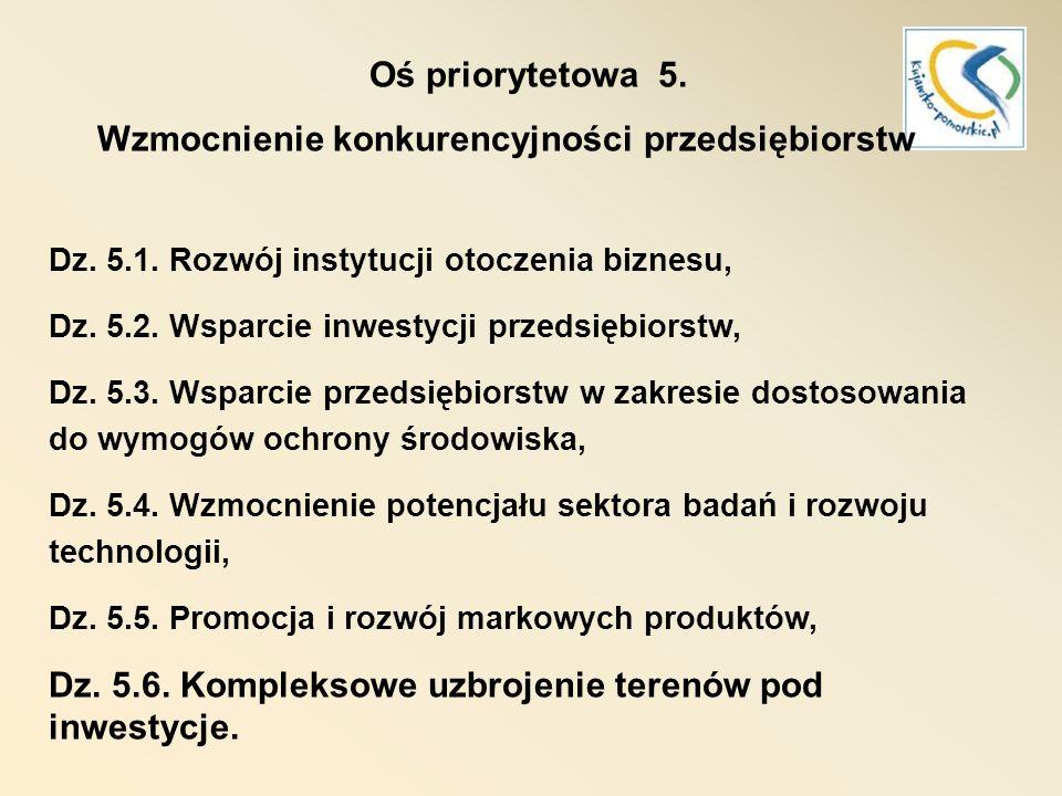 RPO 2007-2013 Oś priorytetowa 6.