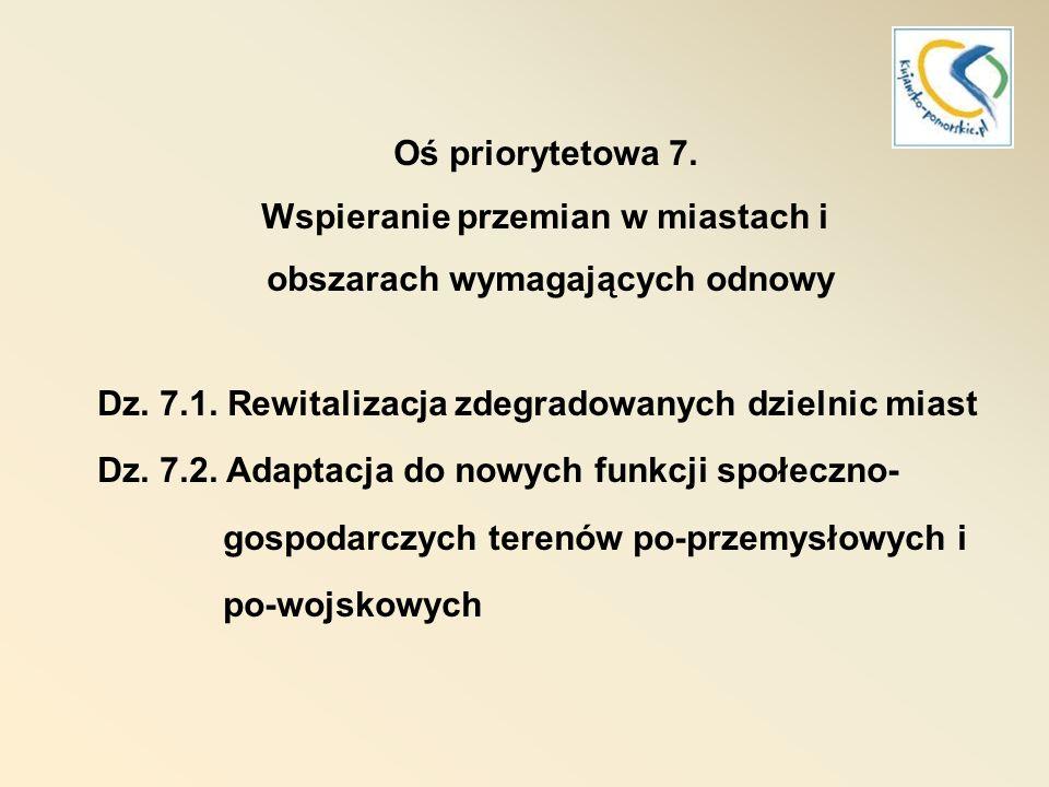 RPO 2007-2013 Priorytet 8.