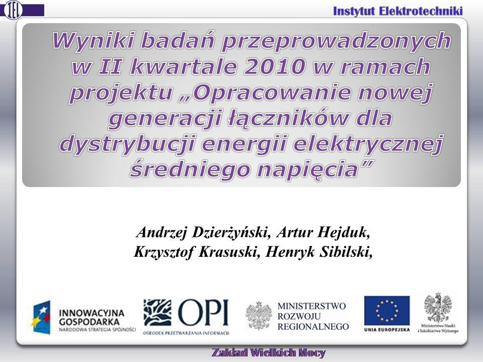 Andrzej Dzierżyński, Artur Hejduk, Krzysztof Krasuski, Henryk Sibilski,