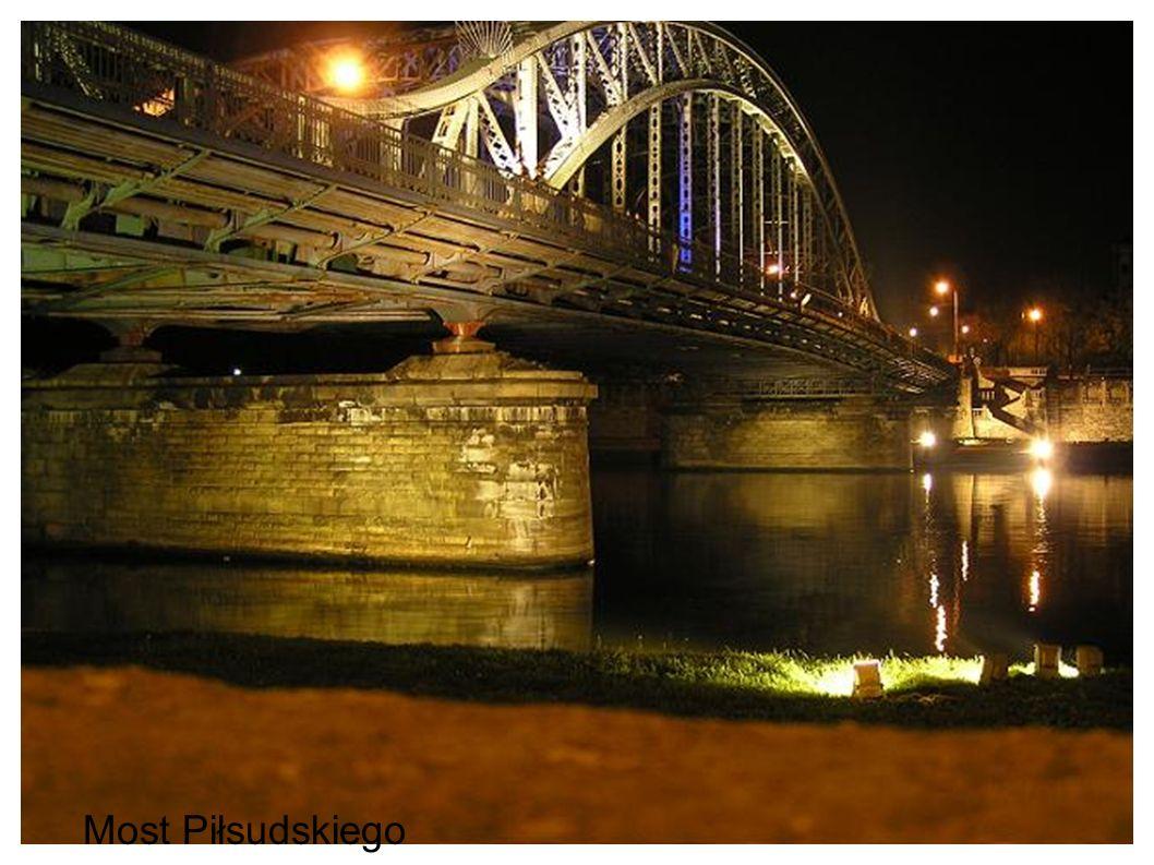 Data oddania do użytku ; 2001 konstrukcja żelbetowa monolityczna długość mostu : 157 m szerokość mostu ; 23,7 m architekt: Piotr Wanecki wysokość nad lustro wody :6,75 m ilość przęseł : 1 Most Zwierzyniecki