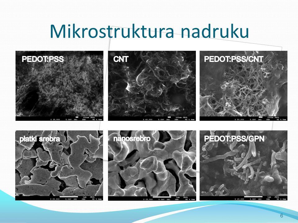 Mikrostruktura nadruku 6