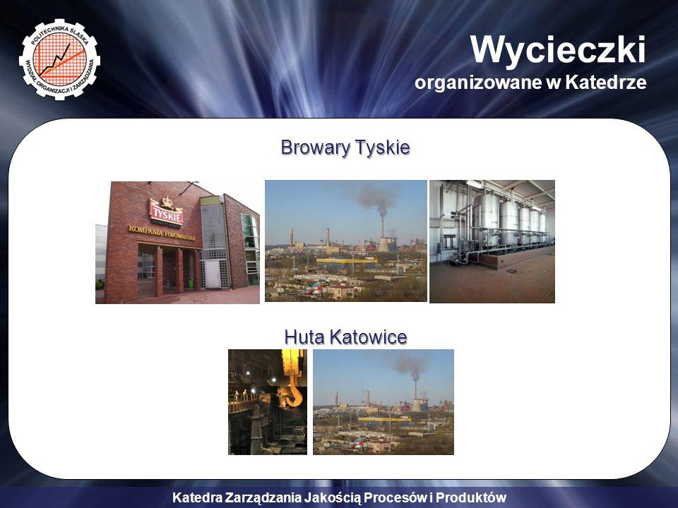 Katedra Zarządzania Jakością Procesów i Produktów Browary Tyskie Huta Katowice Wycieczki organizowane w Katedrze