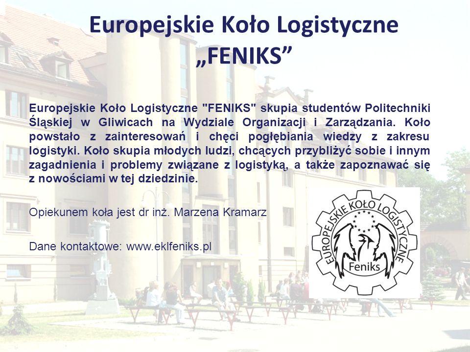 Europejskie Koło Logistyczne FENIKS Europejskie Koło Logistyczne