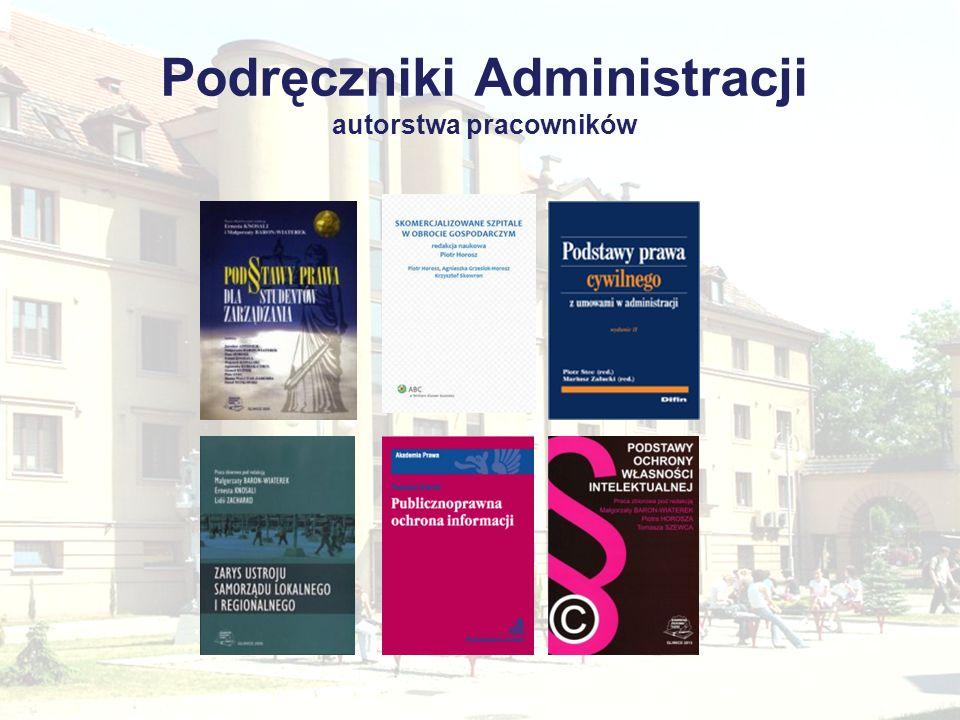 Podręczniki Administracji autorstwa pracowników
