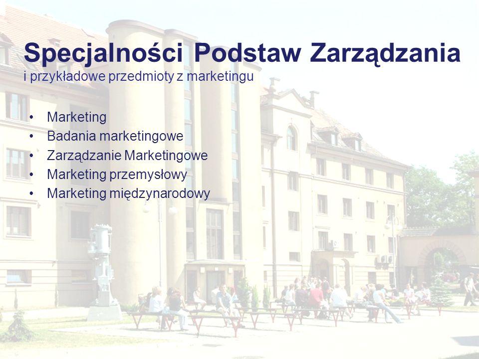Marketing Badania marketingowe Zarządzanie Marketingowe Marketing przemysłowy Marketing międzynarodowy Aby edytować stopkę, wybierz: Dla Office 2007:
