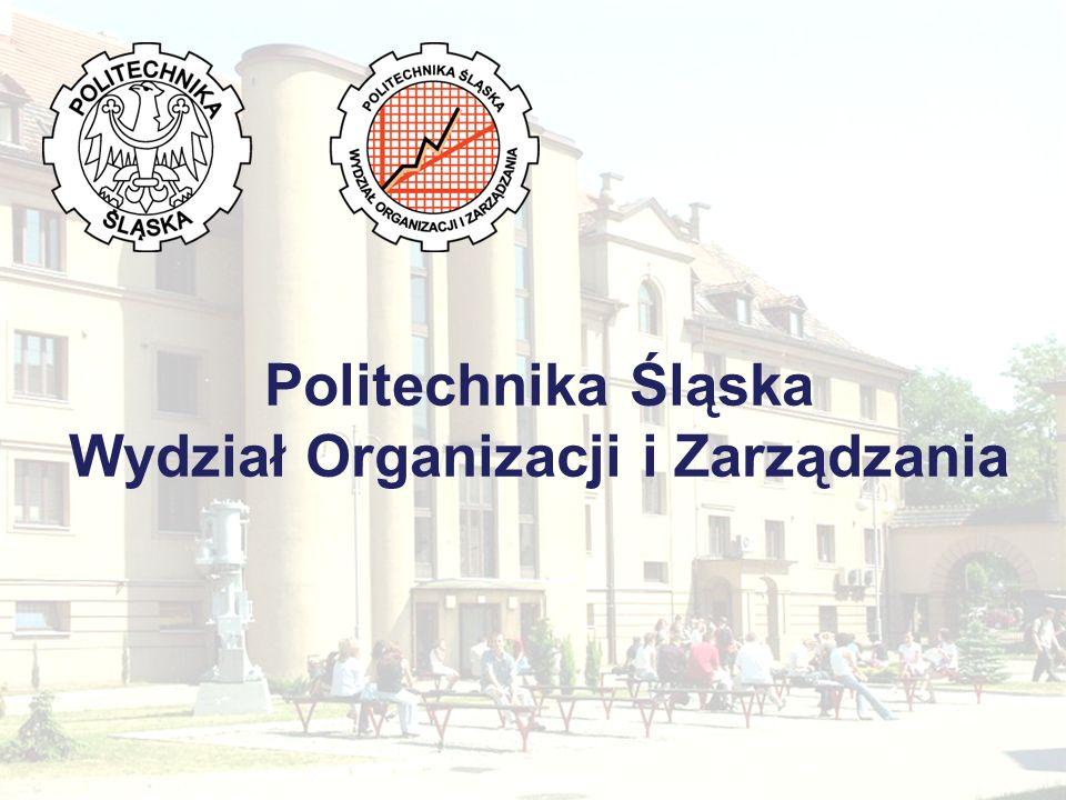 Wydział Organizacji i Zarządzania Realizujemy doradztwo i szkolenia w budynkach Wydziału i w przedsiębiorstwach