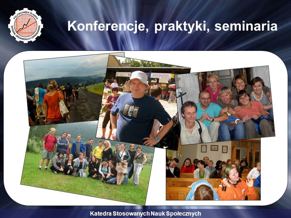 Katedra Stosowanych Nauk Społecznych Katedra organizuje następujące studia podyplomowe: Zarządzanie Kadrami i Doradztwo Zawodowe; Zarządzanie Kadrami i Organizacja Zakładów Opieki Zdrowotnej; Zarządzanie Kadrami i Organizacja Oświaty; Edukacja Europejska; Komunikacja Społeczna i Public Relations.