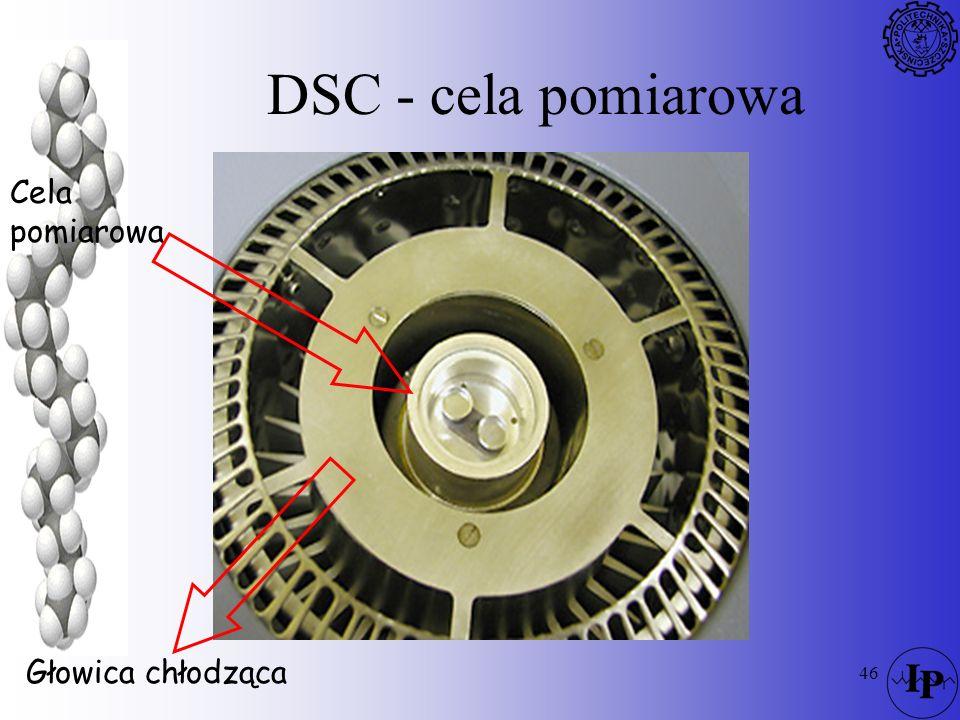 46 DSC - cela pomiarowa Cela pomiarowa Głowica chłodząca