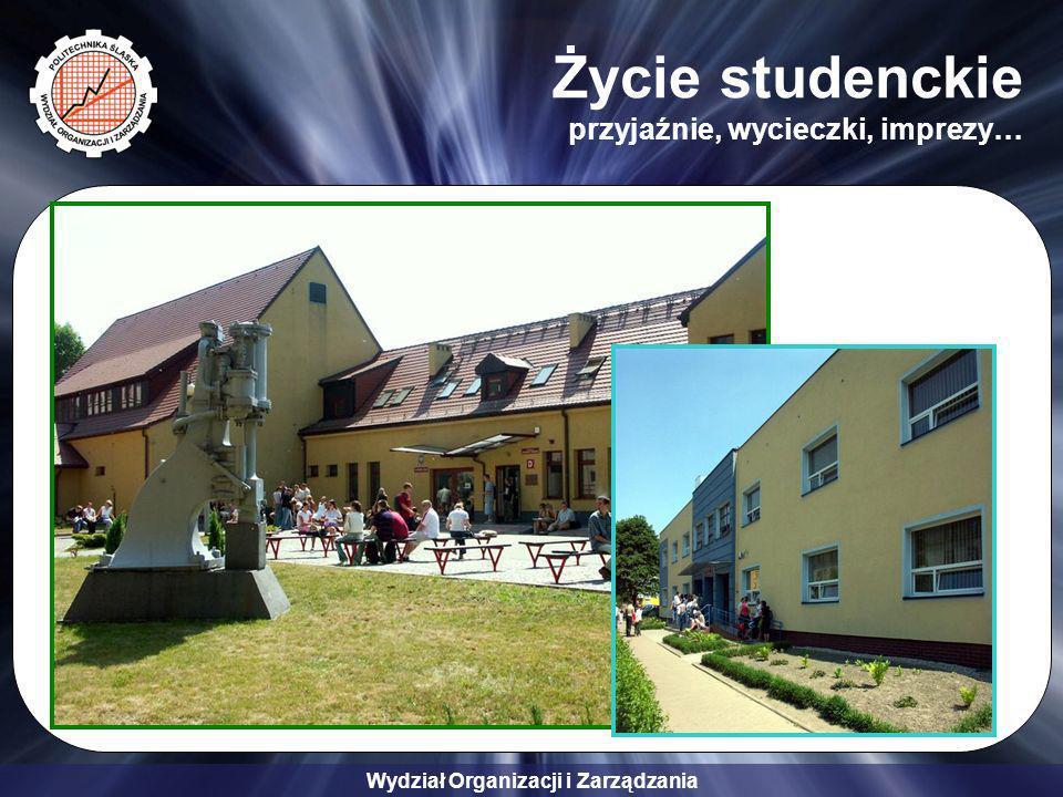 Wydział Organizacji i Zarządzania Życie studenckie przyjaźnie, wycieczki, imprezy…
